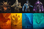 The Gods vs The Titans (Kaijus)