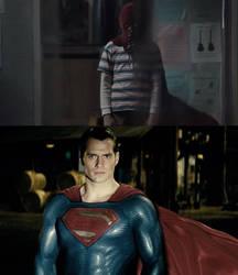 Superman vs Brightburn by MnstrFrc