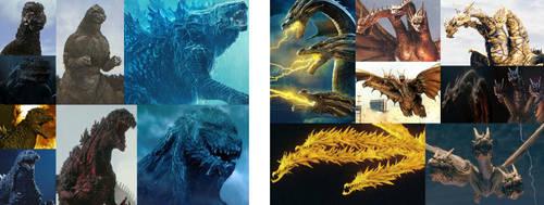 The Godzillas vs The Ghidorahs