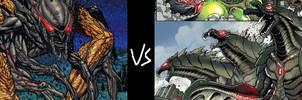 MUTO Prime vs Trilopod Godzillas