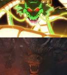 Shenron vs King Ghidorah