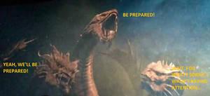 King Ghidorah Be Perpared!