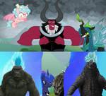 Godzilla and Kong vs The Legion of Doom
