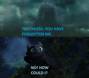 Toothless See His Father
