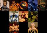 Mortal Kombat Aracde Animated Characters