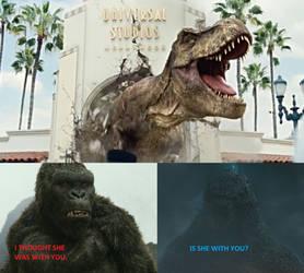 Godzilla and Kong REACT Rexy! II