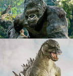 Peter Jackson King Kong vs Stan Winston Godzilla