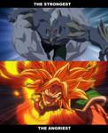 Doomsday vs Super Saiyan Broly