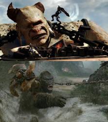 Kong vs Polyphemus