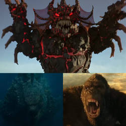Godzilla and Kong vs Maligore