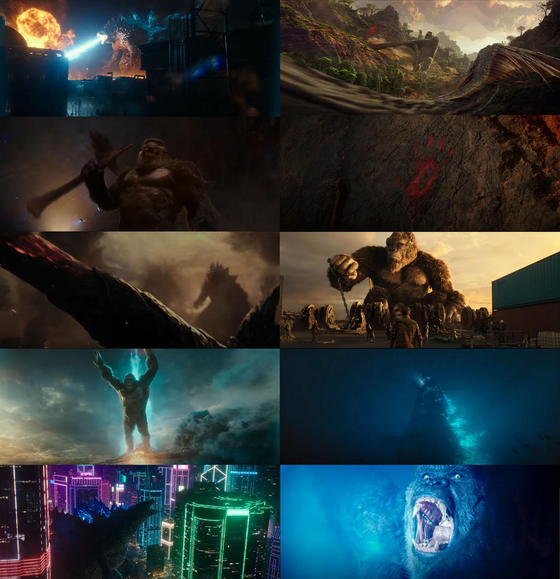 Godzilla vs Kong Trailer 1 by MnstrFrc on DeviantArt