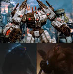 Godzilla and Kong vs Metroplex