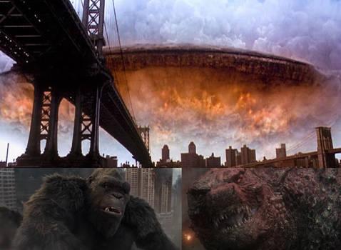 Godzilla and Kong React Big Enemy 2