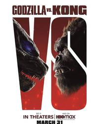 Godzilla vs Kong 2021 VS Poster