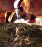 Kratos vs Steppenwolf