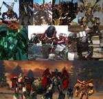 Team Prime vs Constructicons (ROTF)