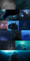 Godzilla Underwater Compilations