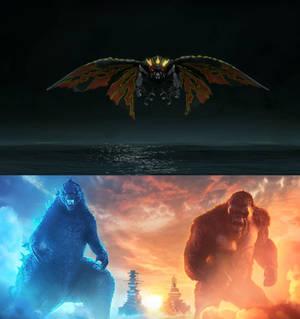 Godzilla and Kong vs Battra