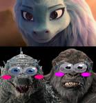 Godzilla and Kong See Sisu Beautiful Eyes 2