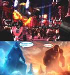 Godzilla and Kong vs Decepticlones