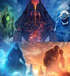 Godzilla and Kong vs The Titans (2021) 2
