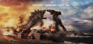 How Much Weight for Godzilla and Kong on Ship?