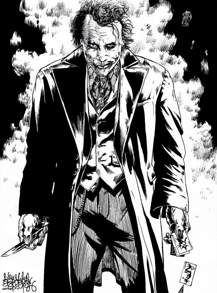 Joker Heath Ledger by garnabiuth on DeviantArt Heath Ledger Joker ... X Clamp Kamui