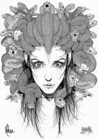 Gorgona Medusa by garnabiuth
