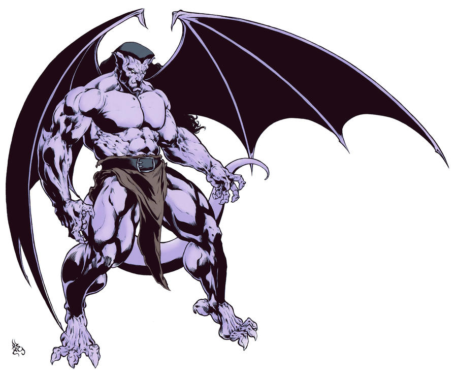 Gargoyles Goliath Gargoyles on ComicStyle4Ever -