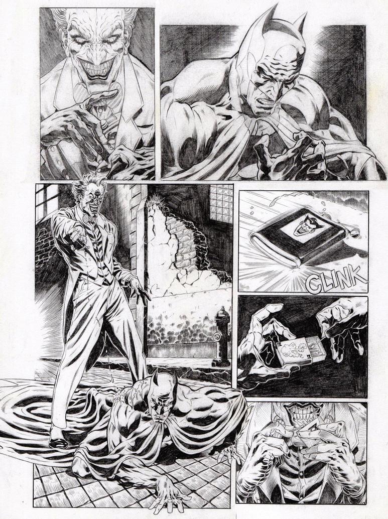 Batman sample pages 01 by garnabiuth