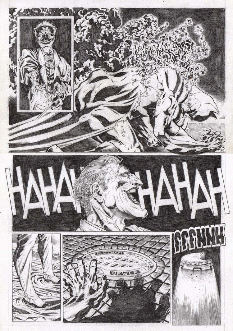 Batman sample pages 02 by garnabiuth