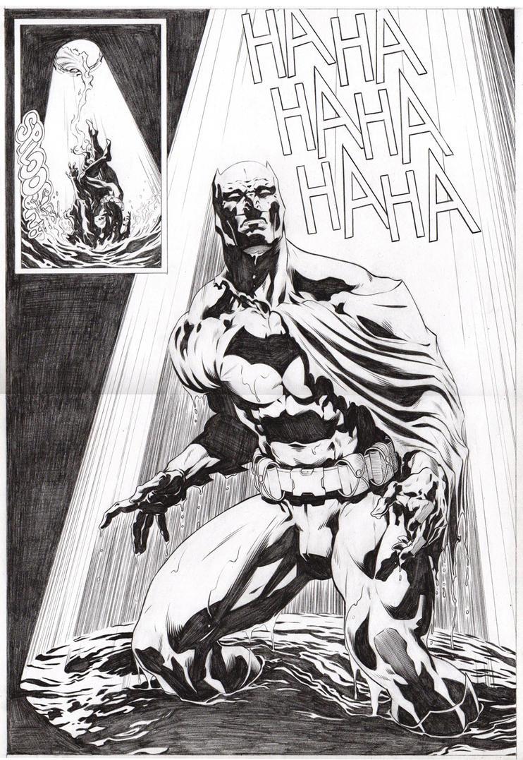 Batman sample pages 03 by garnabiuth
