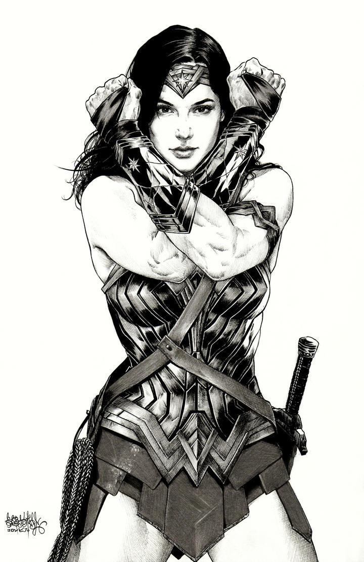 Gal Gadot Wonder Woman by garnabiuth