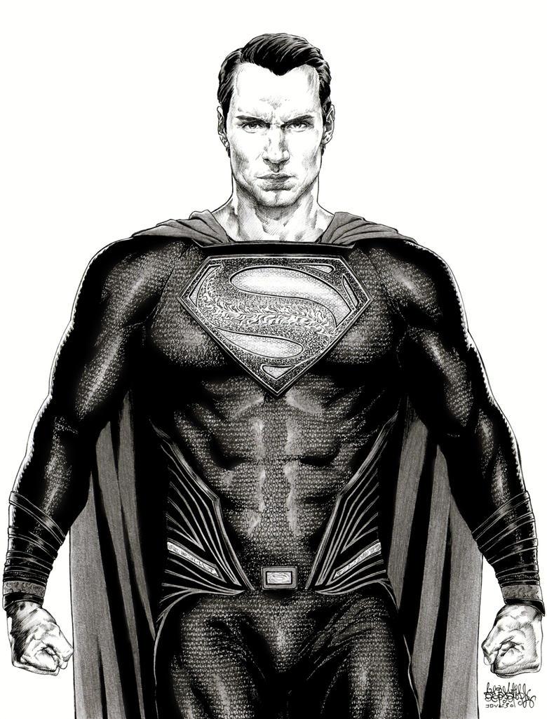 Superman Henry Cavill Dawn Of Justice by garnabiuth