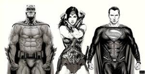 Batman V Superman Dawn of Justice Trinity