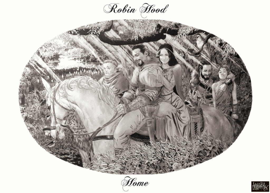Robin Hood - Home by garnabiuth