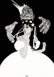 The Phantom of the Opera Kidnap of Christine Daae by garnabiuth