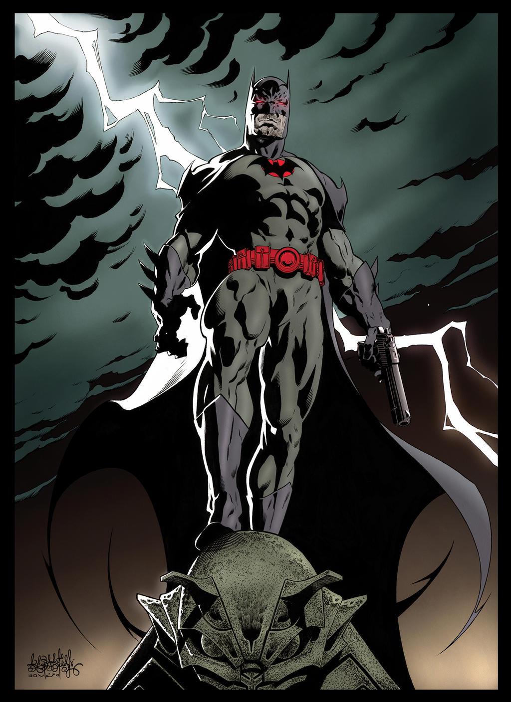batman flashpoint thomas wayne color by garnabiuth on