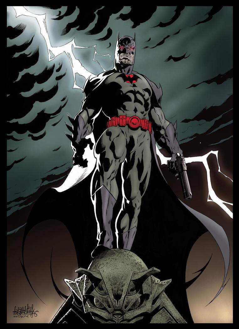 Batman Flashpoint Thomas Wayne color by garnabiuth on DeviantArt