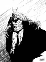 Batman Nosferatu by garnabiuth