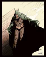 Batman Nosferatu (color) by garnabiuth