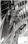 Batman on Gargoyle BVS
