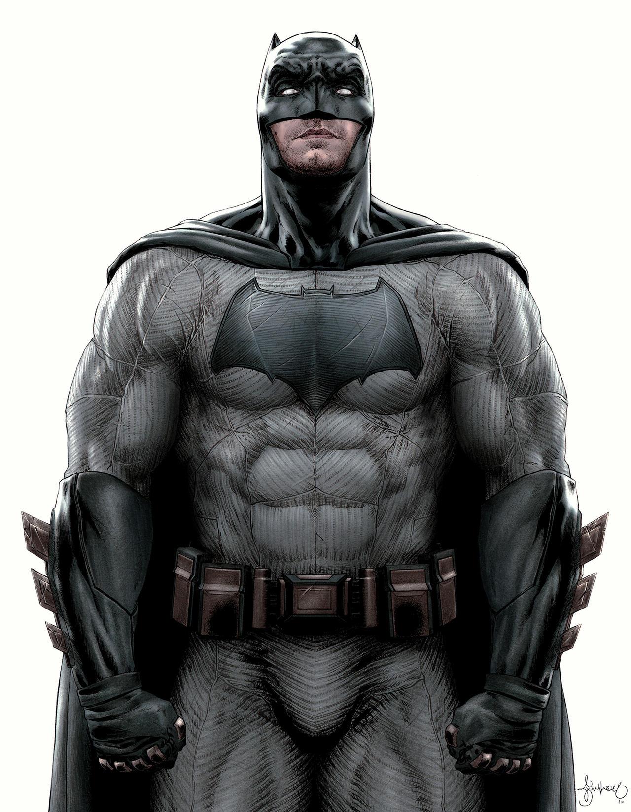 Batman V Superman Batman Color By Garnabiuth On Deviantart