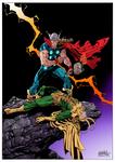 Thor VS Loki color