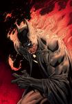 Batman On Fire