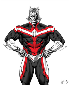 All Might red