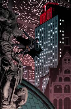 Batman Gotham Knight color