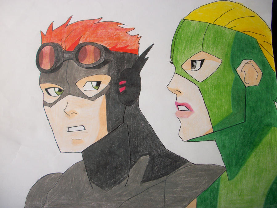 Kid Flash and Artemis (Bereft) by delusionalDaydreamer on ...