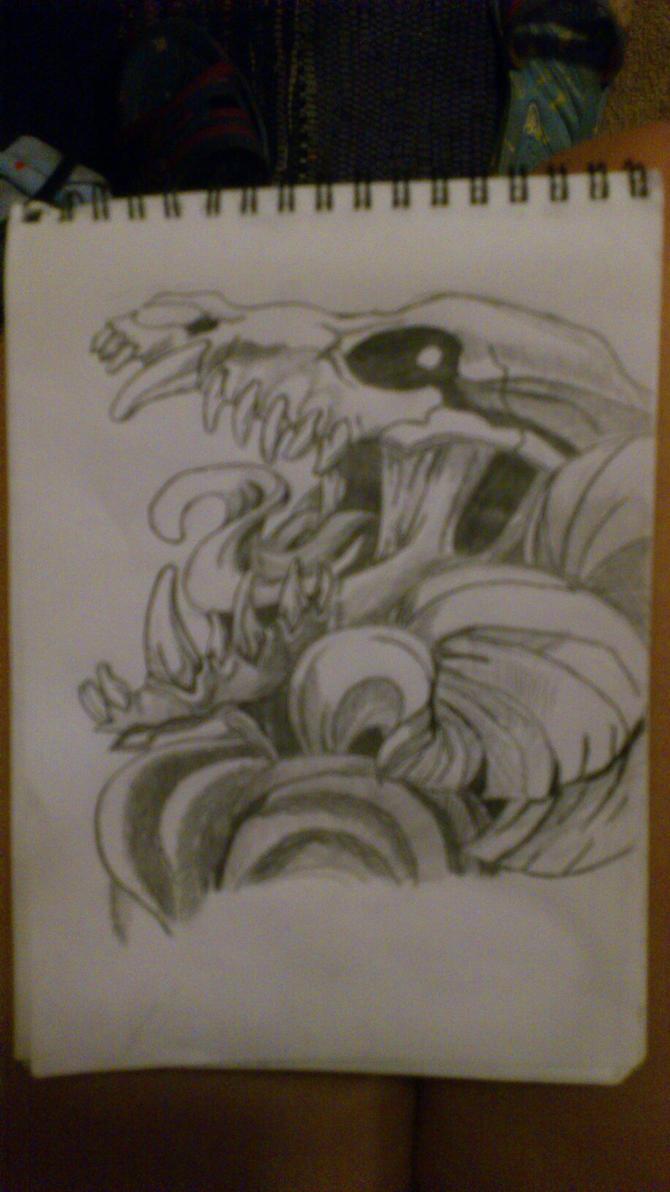 Friend drawing by Sinned1990PD