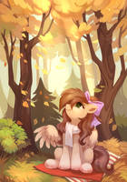 [COMMISSION]: The breath of autumn by ShareDast